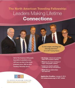 North American Traveling Fellowship promotion
