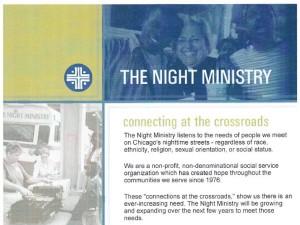 The Night Ministry's website - 2003
