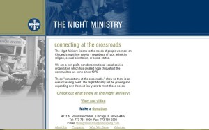 The Night Ministry's website-2004