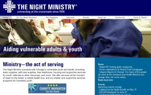 The Night Ministry's website-May2008